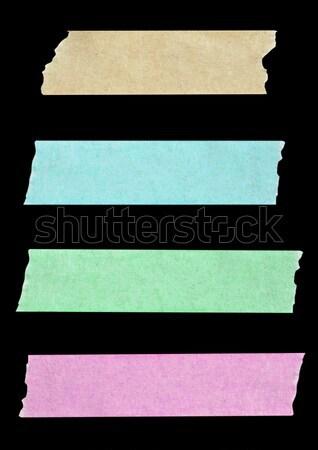 ストックフォト: コレクション · 異なる · 白 · 背景 · 青