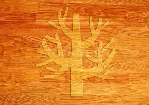 Boom houten textuur muur ontwerp kunst Stockfoto © happydancing