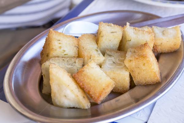 Portugese Milho fritto oder frito Stock photo © haraldmuc