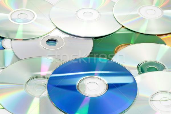 компактный дисков белый музыку домой Сток-фото © haraldmuc
