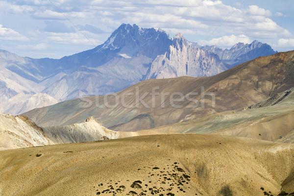 Hegy tájkép India nyár utazás kő Stock fotó © haraldmuc