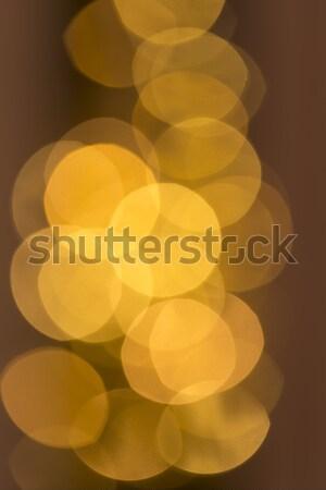 ぼけ味 ショット 抽象的な 光 オレンジ ストックフォト © haraldmuc
