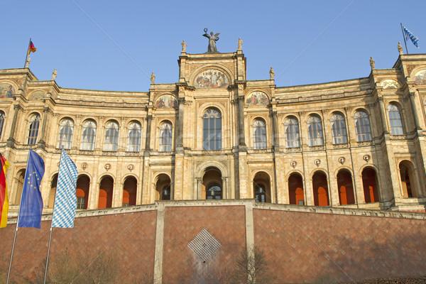 Bavarian Parliament in Munich, Germany Stock photo © haraldmuc