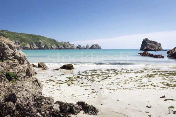 Meridionale costa isola Europa spiaggia natura Foto d'archivio © haraldmuc
