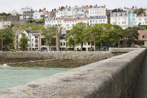 Town of Saint Peter Port on Guernsey, UK Stock photo © haraldmuc