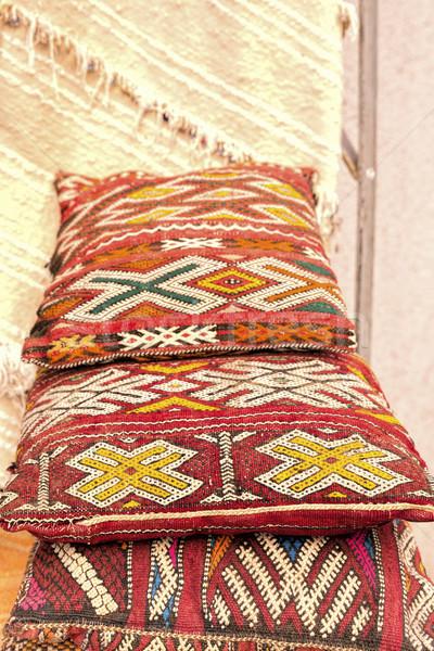 ハンドメイド モロッコ デザイン 家具 アフリカ ストックフォト © haraldmuc