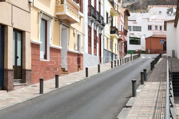 Scénique logement île Espagne route bâtiment Photo stock © haraldmuc