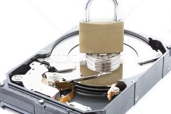 компьютер дисков ящик программное информации Сток-фото © haraldmuc