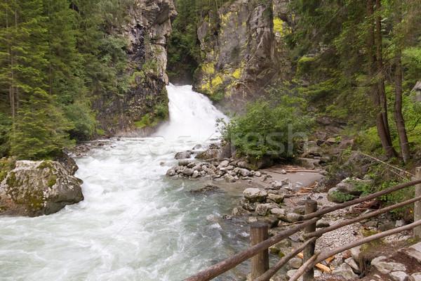 Wild waters in the italian mountains Stock photo © haraldmuc