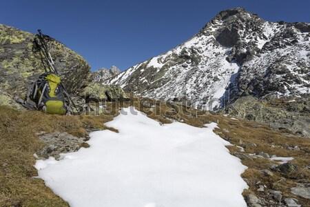 Hiking in Northern Italy, Europe Stock photo © haraldmuc