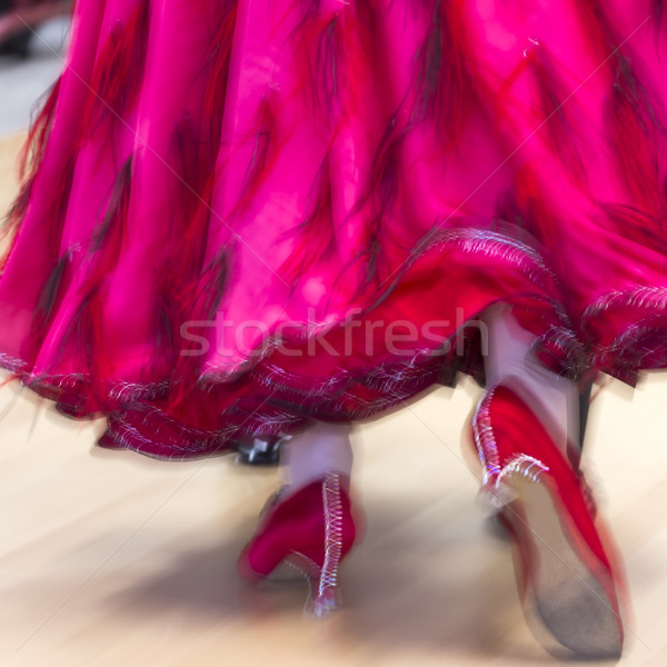Classica dance concorrenza dettaglio donna sport Foto d'archivio © haraldmuc