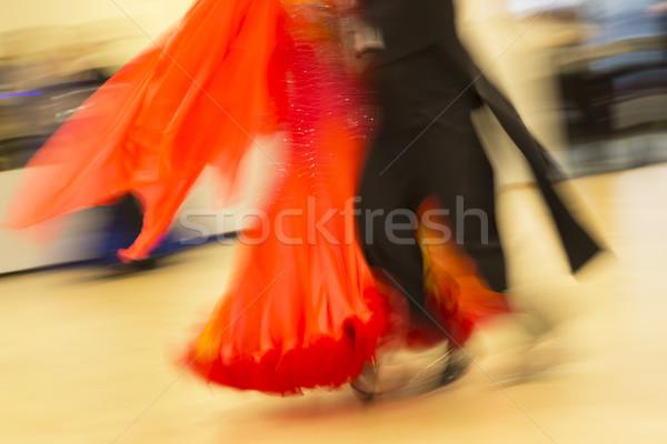 Klasszikus tánc verseny részlet nő sport Stock fotó © haraldmuc