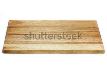 Wooden chopping board Stock photo © haraldmuc