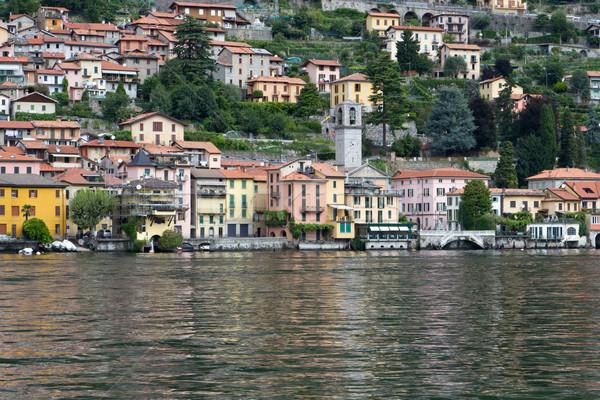 Stok fotoğraf: Kıyı · göl · İtalya · su · Bina