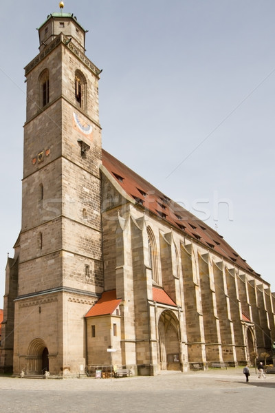 Ministerie Duitsland gebouw bouw zomer baksteen Stockfoto © haraldmuc