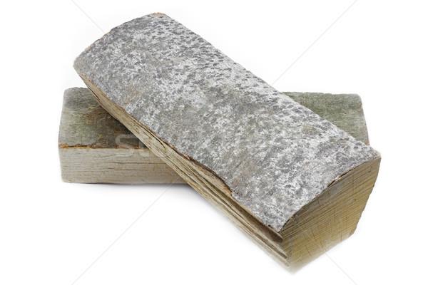 Cut logs of beech tree firewood Stock photo © haraldmuc