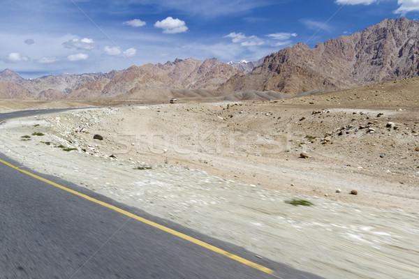 Mountain landscape of Ladakh, India Stock photo © haraldmuc