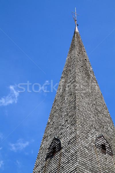Historic Bavarian church steeple Stock photo © haraldmuc