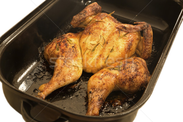 全体 鶏 ランチ 食事 誰も ストックフォト © haraldmuc