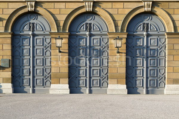 исторический дверей музее египетский искусства Мюнхен Сток-фото © haraldmuc