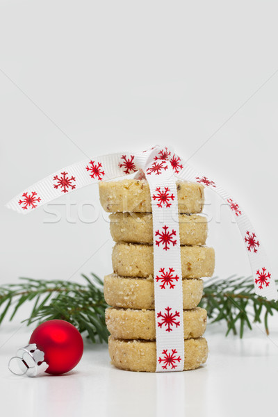 Christmas Cookies piled up Stock photo © haraldmuc