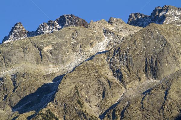 North italian mountains closeup Stock photo © haraldmuc