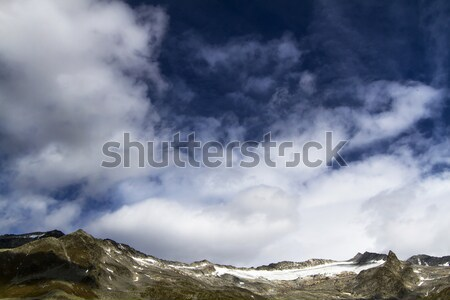 Ghiacciaio settentrionale italiana montagna montagna estate Foto d'archivio © haraldmuc