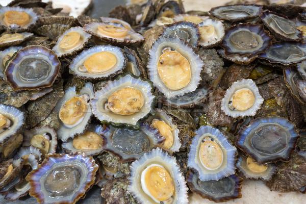 Göstermek pazar balık deniz restoran Stok fotoğraf © haraldmuc
