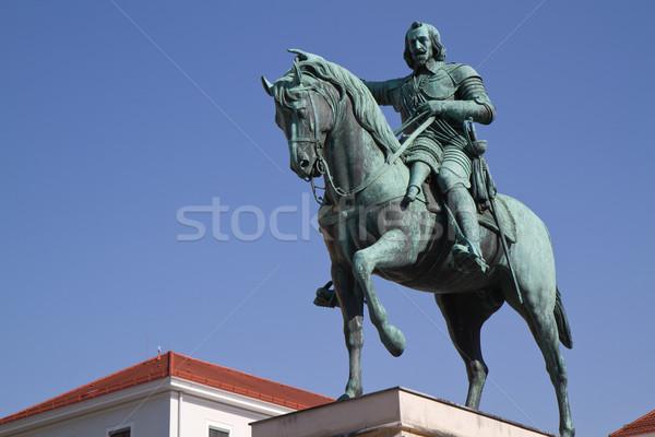"Statue of ""Maximilian Kurfuerst of Bavaria"" in Munich, Germany Stock photo © haraldmuc"