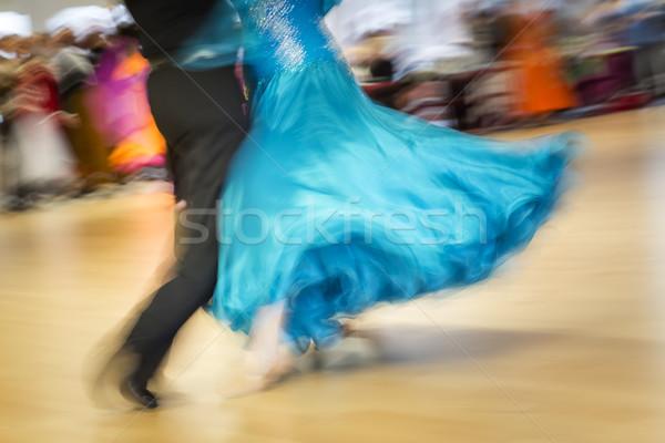 Klassiek dans concurrentie detail vrouw sport Stockfoto © haraldmuc