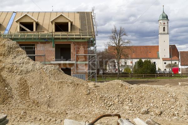 Construction site in Bavaria, Germany Stock photo © haraldmuc