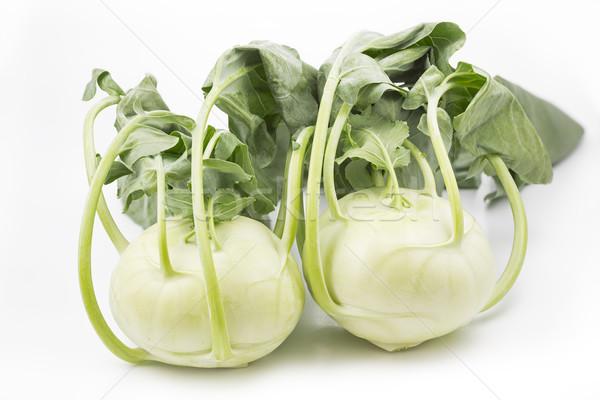 Vers witte voedsel achtergrond keuken plant Stockfoto © haraldmuc