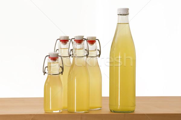 şişeler şurup gıda cam arka plan şişe Stok fotoğraf © haraldmuc