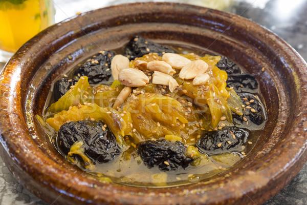 Foto stock: Tradicional · cordeiro · legumes · fruto · frutas · carne
