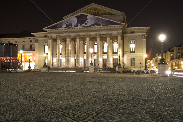 The historic national theater in Munich, Germany Stock photo © haraldmuc
