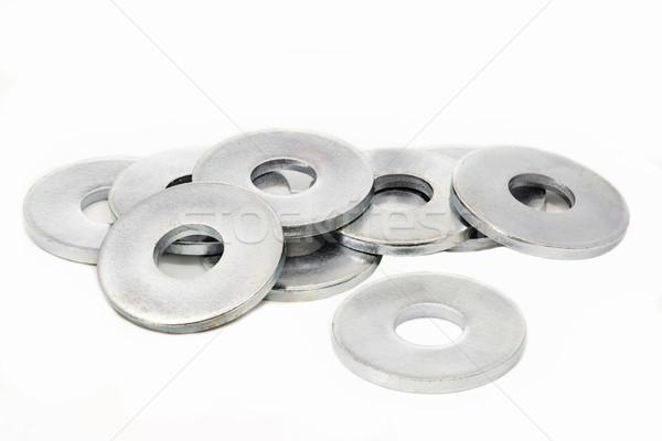çelik beyaz arka plan sanayi araç yeni Stok fotoğraf © haraldmuc