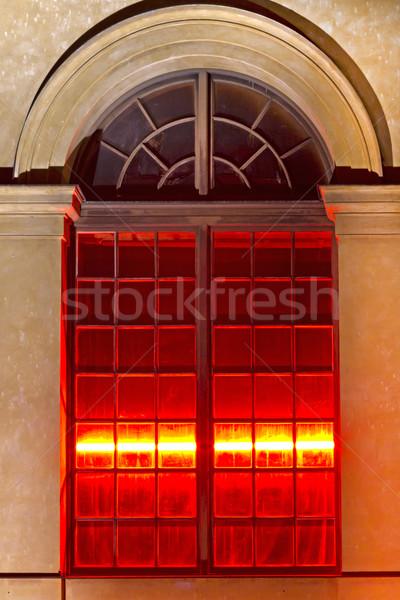 Histórico janela Munique Alemanha luz Foto stock © haraldmuc