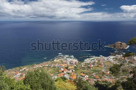 Madeira's (Portugal) south coast Stock photo © haraldmuc