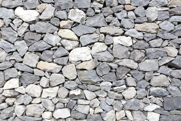 Szary mur tekstury ściany kamień czarny Zdjęcia stock © haraldmuc