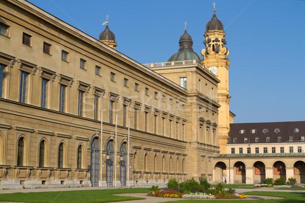 Museu egípcio arte história Munique cidade Foto stock © haraldmuc