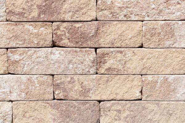 Taş duvar kullanılmış arka plan taş mimari model Stok fotoğraf © haraldmuc