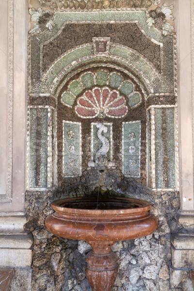 Historic fountain inside the 'Dianatempel' of the 'Hofgarten' in Munich Stock photo © haraldmuc