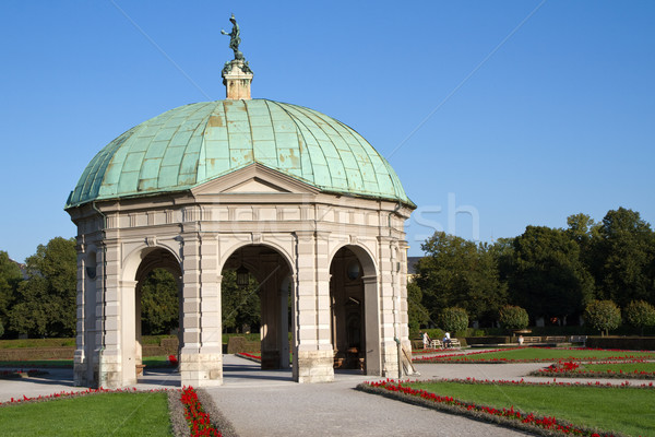 公園 ミュンヘン ドイツ 歴史的 庭園 ストックフォト © haraldmuc
