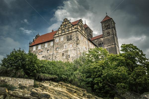 Kilise Almanya yaz seyahat mimari Stok fotoğraf © haraldmuc
