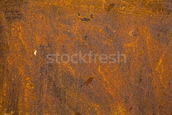 Arrugginito vecchio superficie metallica texture ruggine pattern Foto d'archivio © haraldmuc