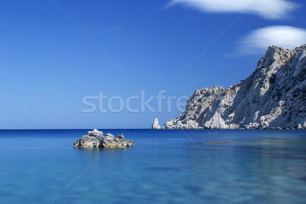 Coast on the island of Karpathos, Greece Stock photo © haraldmuc