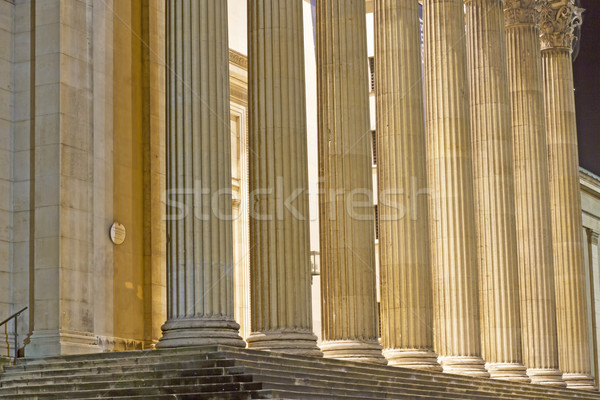 "Classical pillars at ""Koenigsplatz"" place in Munich, Germany Stock photo © haraldmuc"