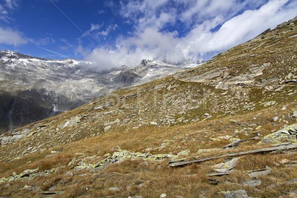 Scenic mountain panorama, Northern Italy Stock photo © haraldmuc