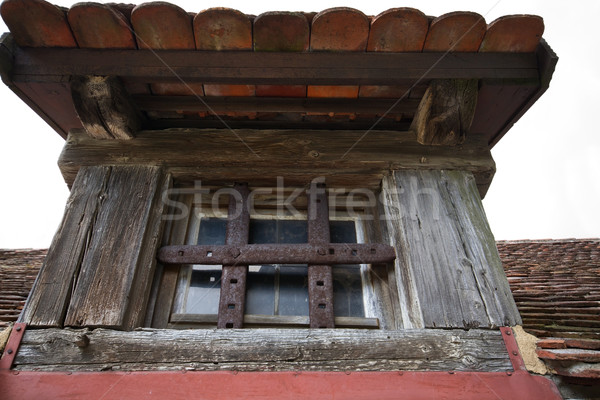 Old attick window Stock photo © haraldmuc