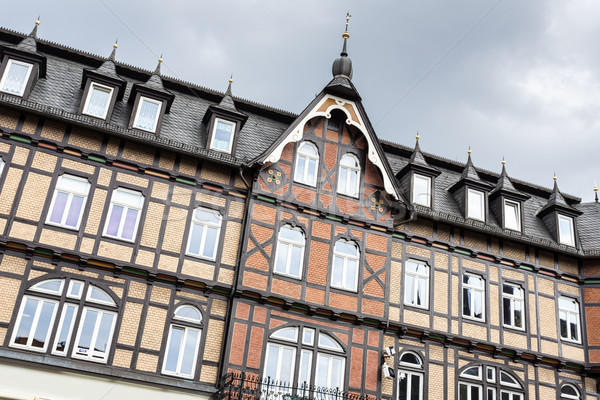 Historic half-timbered houses in the town of Wernigerode, Germany Stock photo © haraldmuc